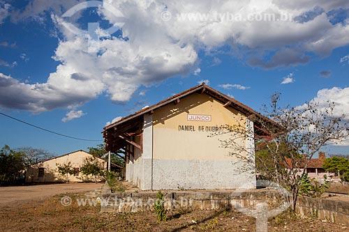 Assunto: Estação ferroviária em Daniel de Queiroz / Local: Distrito Daniel de Queiroz - Quixadá - Ceará  (CE) - Brasil / Data: 11/2012