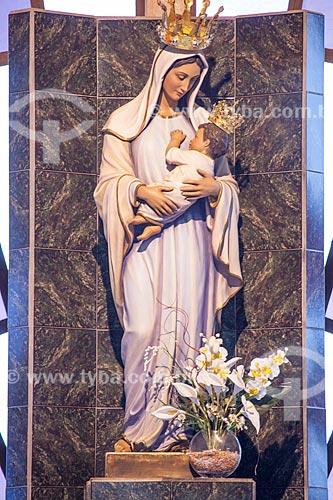 Assunto: Imagem de Nossa Senhora Imaculada Rainha do Sertão / Local: Quixadá - Ceará (CE) - Brasil / Data: 11/2012