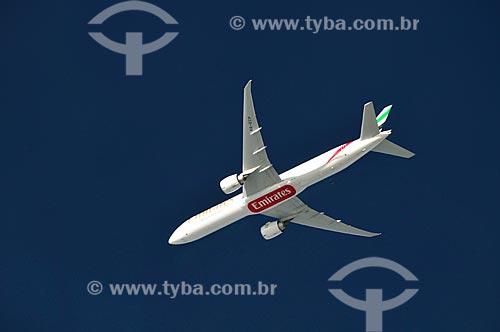 Assunto: Boeing B777-300ER voando / Local: Próximo à Turquia - Europa / Data: 10/2010