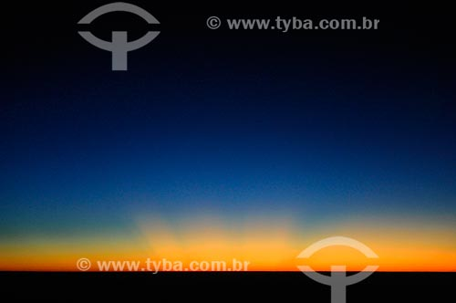 Assunto: Pôr do sol na costa leste da Tanzânia / Local: Tanzânia - África / Data: 08/2011
