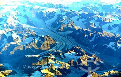 Assunto: Geleiras na região sul da Groenlândia / Local: Groenlândia - America do Norte / Data: 09/2011