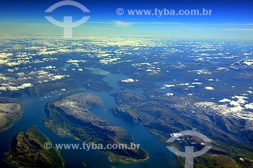 Assunto: Fiordes no litoral da Noruega / Local: Noruega - Europa / Data: 07/2010