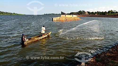 Assunto: Pescadores na Baía de Murchison / Local: Kampala - Uganda - África / Data: 06/2010
