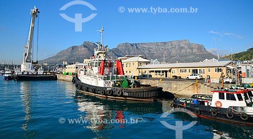 Assunto: Porto da Cidade do Cabo na Baía da Mesa / Local: Cidade do Cabo - África do Sul - África / Data: 07/2010