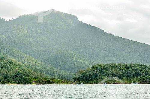 Assunto: Vista da Praia do Saco do Céu na Enseada da Estrela / Local: Distrito Ilha Grande - Angra dos Reis - Rio de Janeiro (RJ) - Brasil / Data: 07/2012