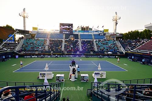 Assunto: Quadra de tênis do  Estádio de Tênis  de Dubai / Local: Al Garhoud - Dubai - Emirados Árabes Unidos - Ásia / Data: 02/2012