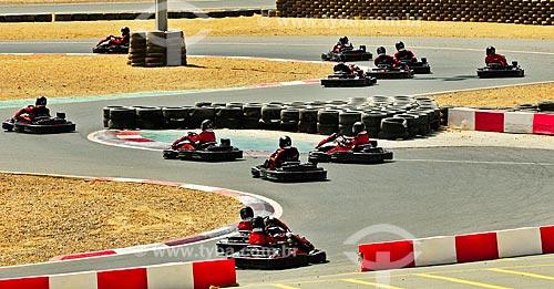 Assunto: Corrida de Kart no Dubai Motor City / Local: Dubai - Emirados Árabes Unidos - Ásia / Data: 04/2012