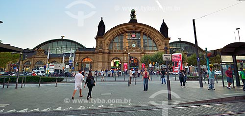 Assunto: Estação Central de Frankfurt / Local: Frankfurt - Alemanha - Europa / Data: 08/2012