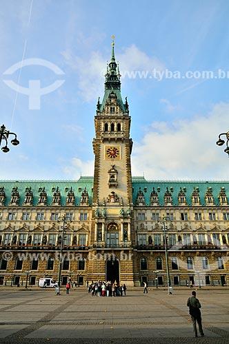 Assunto: Prefeitura de Hamburgo / Local: Hamburgo - Alemanha - Europa / Data: 10/2011