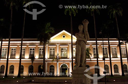 Assunto: Antigo prédio da Casa da Moeda ,  atual Arquivo Nacional  -  fundado em 1838 ,  está neste endereço a partir de 1985 / Local: Praça da República - Rio de Janeiro (RJ) - Brasil / Data: 01/2011