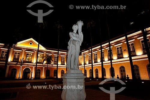 Assunto: Antigo prédio da Casa da Moeda, atual Arquivo Nacional - fundado em 1838 ,  está neste endereço a partir de 1985 / Local: Praça da República - Rio de Janeiro (RJ) - Brasil / Data: 01/2011