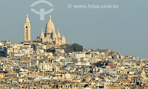 Assunto: Basílica do Sagrado Coração (1914) / Local: Monte Martre - Paris - França - Europa / Data: 02/2012