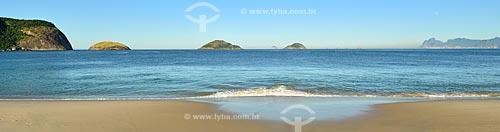 Assunto: Praia de Camboinhas com a Ilha da Filha, Ilha da Mãe e Ilha do Pai / Local: Itaipú - Niterói - Rio de Janeiro (RJ) - Brasil / Data: 07/2012