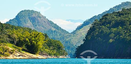 Assunto: Vista da vegetação da Baía da Ilha Grande / Local: Distrito Ilha Grande - Angra dos Reis - Rio de Janeiro (RJ) - Brasil / Data: 07/2012