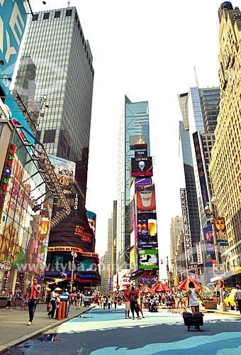 Assunto: Edifícios de Times Square / Local: Manhattan - Nova Iorque - Estados Unidos - América do Norte / Data: 08/2010