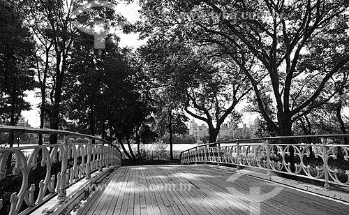 Assunto: Ponte no Central Park / Local: Manhattan - Nova Iorque - Estados Unidos - América do Norte / Data: 09/2010