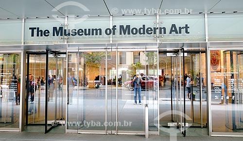 Assunto: Entrada do Museu de Arte Moderna de Nova Iorque / Local: Manhattan - Nova Iorque - Estados Unidos - América do Norte / Data: 09/2010