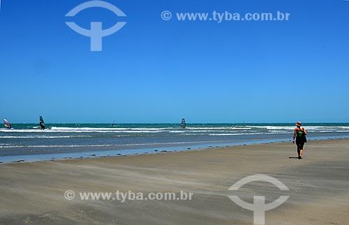 Assunto: Praia de Jericoacoara que integra o Parque Nacional de Jericoacoara / Local: Jijoca de Jericoacoara - Ceará (CE) - Brasil / Data: 09/2012
