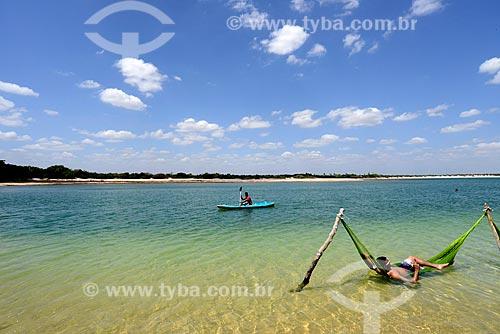 Assunto: Redes na Lagoa do Paraíso / Local: Jijoca de Jericoacoara - Ceará (CE) - Brasil / Data: 09/2012