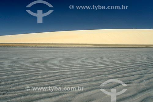 Assunto: Praia de Jericoacoara e duna do Pôr do Sol ao fundo / Local: Jijoca de Jericoacoara - Ceará (CE) - Brasil / Data: 09/2012