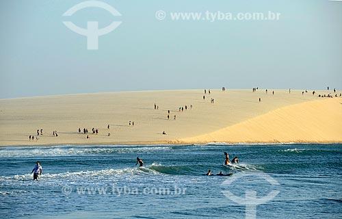 Assunto: Praia de Jericoacoara e duna do Pôr do Sol / Local: Jijoca de Jericoacoara - Ceará (CE) - Brasil / Data: 09/2012