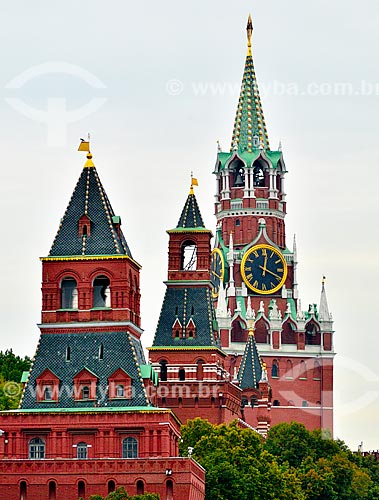 Assunto: Torre da Trindade no Kutafya / Local: Moscou - Rússia - Europa / Data: 09/2010