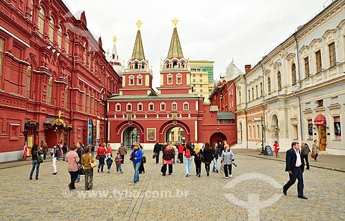 Assunto: Portões da Ressurreição - também conhecido como Portões Ibéricos (1680) / Local: Moscou - Rússia - Europa / Data: 09/2010