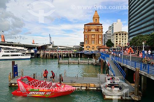 Assunto: Terminal de balsas / Local: Auckland - Nova Zelândia - Oceania / Data: 01/2011