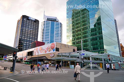 Assunto: Edifícios comerciais na cidade de Auckland / Local: Auckland - Nova Zelândia - Oceania / Data: 01/2011