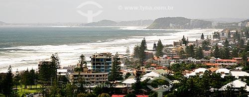 Assunto: Vista da Praia em Broadbeach / Local: Broadbeach - Queensland - Austrália - Oceania / Data: 01/2011