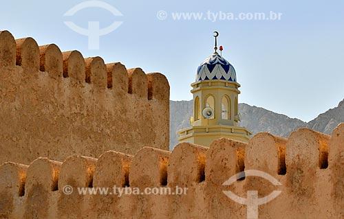 Assunto: Minarete de Mesquita em Khasab / Local: Distrito de Khasab - Musandam - Omã - Ásia / Data: 02/2011