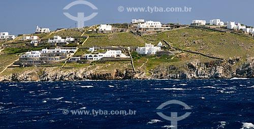 Assunto: Vista da Ilha de Míconos / Local: Ilha de Míconos - Míconos - Grécia - Europa / Data: 04/2011