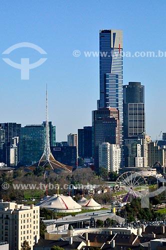 Assunto: Vista do Centro de Artes do Jardim Fitzroy / Local: Melbourne - Austrália - Oceania / Data: 07/2011