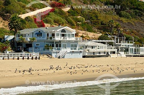 Assunto: Casas na Praia de Paradise Cove / Local: Malibu - Califórnia - Estados Unidos da América - América do Norte / Data: 08/2011