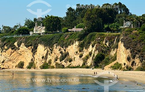 Assunto: Vista do Point Dume na Praia de Paradise Cove / Local: Malibu - Califórnia - Estados Unidos da América - América do Norte / Data: 08/2011