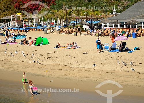 Assunto: Praia de Paradise Cove / Local: Malibu - Califórnia - Estados Unidos da América - América do Norte / Data: 08/2011