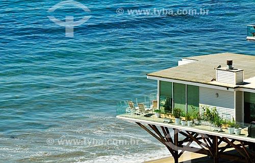 Assunto: Casa próximo à Praia Paradise Cove / Local: Malibu - Califórnia - Estados Unidos da América - América do Norte / Data: 08/2011