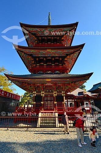 Assunto: Pagode Três Andares no Templo Shinshogi / Local: Narita - Chiba - Japão - Ásia / Data: 01/2012
