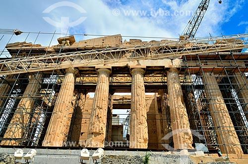 Assunto: Fachada do Partenon / Local: Atenas - Grécia - Europa / Data: 04/2011