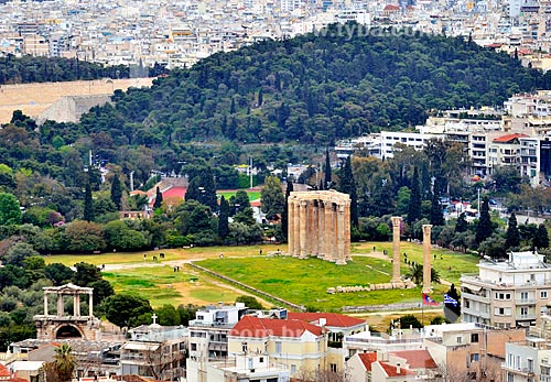 Assunto: Templo de Zeus Olímpico / Local: Atenas - Grécia - Europa / Data: 04/2011