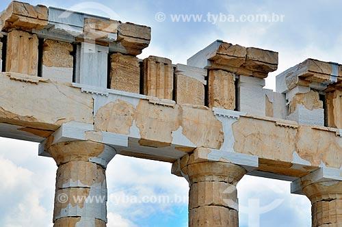 Assunto: Colunas do Partenon / Local: Atenas - Grécia - Europa / Data: 04/2011