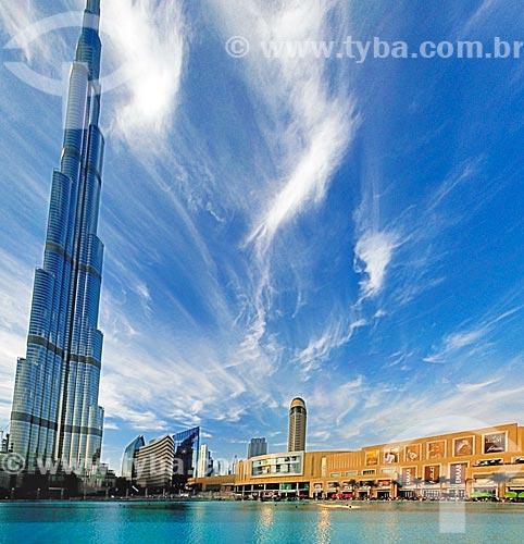 Assunto: Edifício Burj Khalifa - prédio mais alto do mundo / Local: Dubai - Emirados Árabes Unidos - Ásia / Data: 01/2011