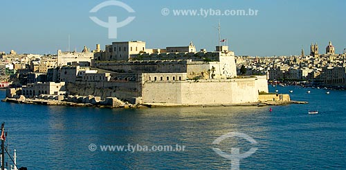 Assunto: Forte de Santo Ângelo / Local: Birgu - República de Malta - Europa / Data: 06/2008