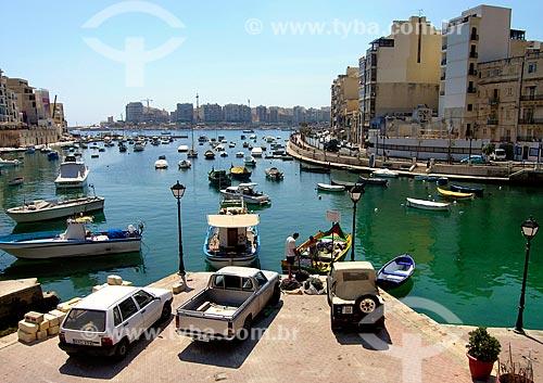 Assunto: Vista da Baía Spinola / Local: Saint Julian - República de Malta - Europa / Data: 06/2008