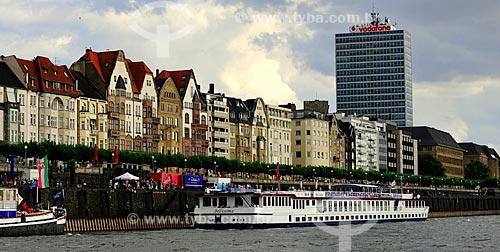 Assunto: Vista do Passeio do Rio Reno / Local: Düsseldorf - Alemanha - Europa / Data: 07/2010