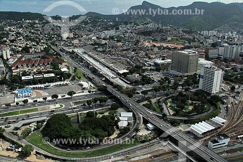 Assunto: Vista da Avenida 31 de Março com Marquês de Sapucaí ao fundo / Local: Cidade Nova -  Rio de Janeiro (RJ) - Brasil / Data: 12/2012