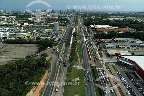 Assunto: Vista da Avenida Ayrton Senna / Local: Barra da Tijuca - Rio de Janeiro (RJ) - Brasil / Data: 12/2012