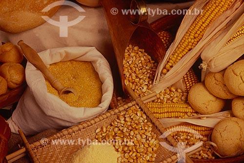 Assunto: Detalhes de alimentos derivados de milho / Local: Estúdio / Data: 06/2011