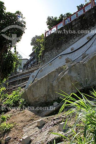 Assunto: Obra de contenção de encosta de residência / Local: São Conrado - Rio de Janeiro (RJ) - Brasil / Data: 12/2012
