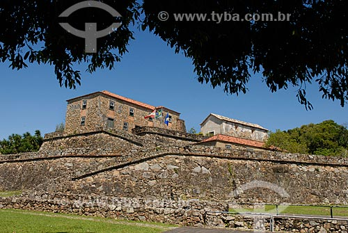 Assunto: Fortaleza de São José da Ponta Grossa (século XVIII) / Local: Distrito de Canavieiras - Santa Catarina (SC) - Brasil / Data: 10/2011